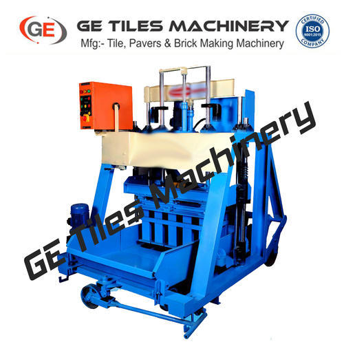 Semi-Automatic Hollow Block Making Machine