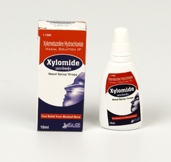 Xylometazoline Hydrochloride 0.1% Nasal Drop