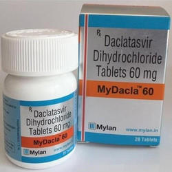 Daclatavir and Dihydrocloride 60 mg Tablets