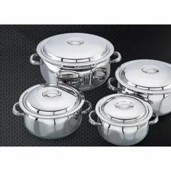 Jumbo Black Berry Stainless Steel Handi Set