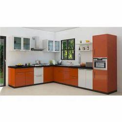 L Shape Designer Kitchen
