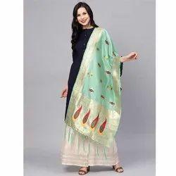 Zarika Hit Color Vol 7 Banarasi Silk Dupatta