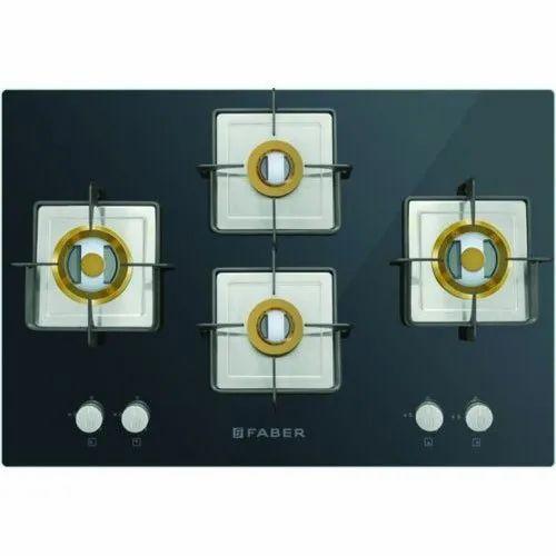 6377141e04 Faber 4 Burner Hobs, Model Number: HGG 754 CRS BR CI HT, Rs 19990 ...