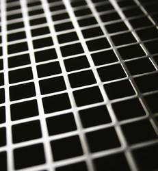 Square Hole SS Perforated Sheet