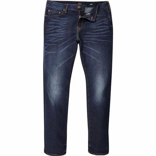 Regular Fit Casual Wear Men Navy Blue Jeans 4b5def5db