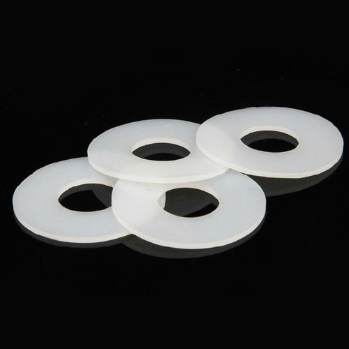 White Silicone Rubber Washer, Rs 5 /piece, Radhe Polymer Industries ...