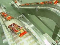 PU Pouch Packing Belt Conveyor