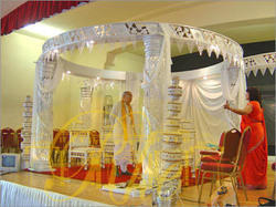 Glass Mandap
