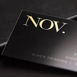 Synthetic Single Side Business Cards