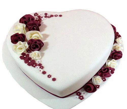 Cgc1305 Divine Rich Heart Cake क र म क क Cake N Gifts