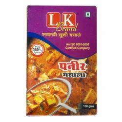 LK 100 g Paneer Masala, Packaging: Box