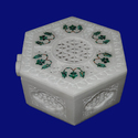 Decorative Marble Inlay Boxes