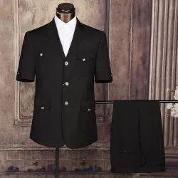 Black Safari Suit