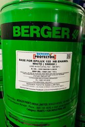 Industrial White Berger Epoxy Floor Paint, Packaging Size: 20 Litre