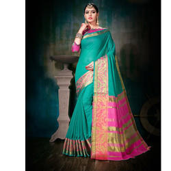 Partywear Plain Saree