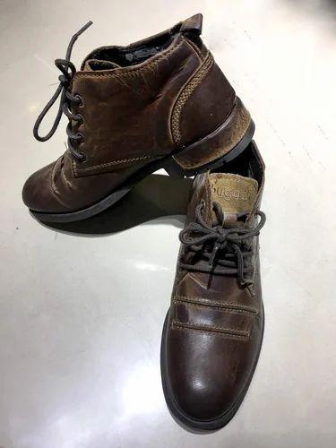 bugatti leather boot, chamade ke boots, चमडे के जूते