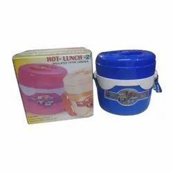 Stainless Steel Hot Insulated Lunch Box, For School, Offices