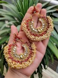 Various Chandbali Bridal Kundan Earrings