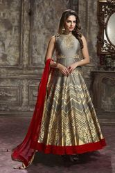 Latest Trendy Party Wear Full Stitched Gown