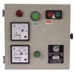 Motor Control Panel, 1 & 3 Phase, 230/415