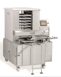 Automatic Tray Arranger Machine, Capacity: 6000 Pieces Per Hour