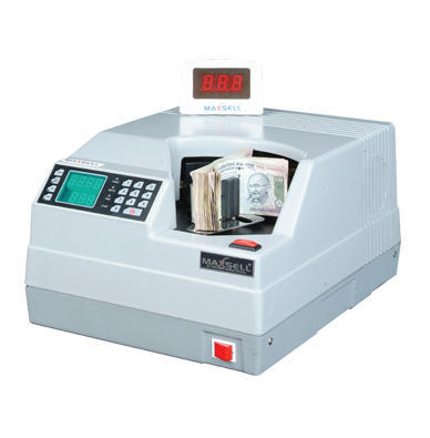 Maxsell 800-1200 Notes MX 600-Heavy Duty Bundle Note Counter, 32x20x12 Inches, Hopper Capacity: 200 Notes