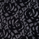 Net Fabric Black Designer Net Knitted Fabric, Use: Garments, Gsm: 180-300