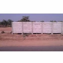 Prefabricated RCC Compound Wall