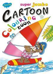 Super Jumbo Cartoon Colouring Book