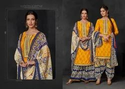 Ravi Creation Heer Vol-1 Series 1001-1008 Stylish Party Wear Cotton Suit
