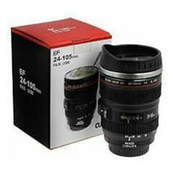 Camera Lens Drinking Mug