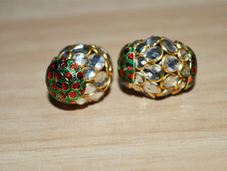 Handmade Meena Enamel Bead