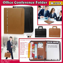 Office Brown and Black Report File Conference Folder