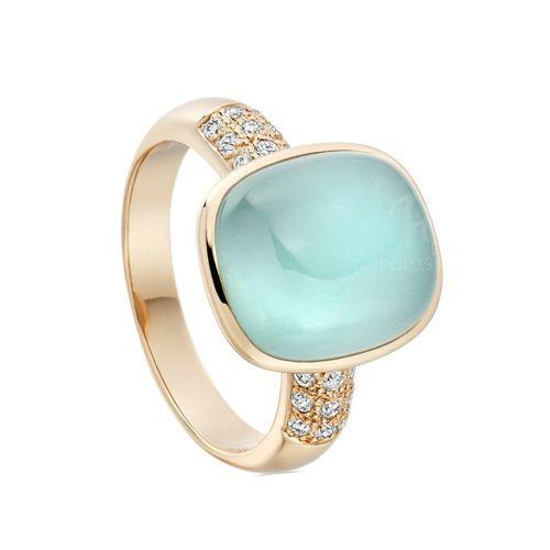 Single Stone Gold Ring Sone Ki Angoothi Valentine Jewellery