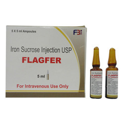 Iron Sucrose Injection 5X5ml ampoule