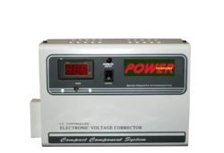 Single Phase 4KVA Wall Mounting Stabilizer for AC's, Same Day, 50hz