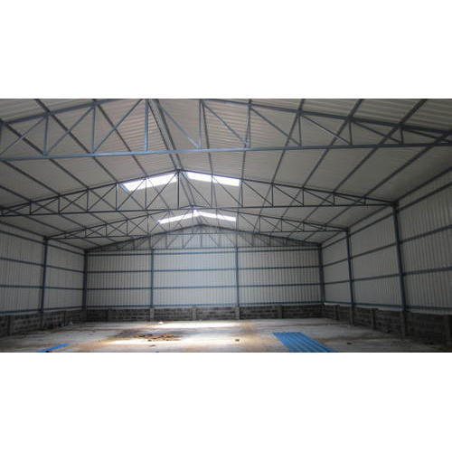 Galvalume Sheet Industrial Warehouse Shed