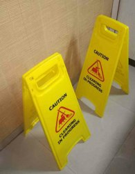 Floor Caution Sign Board