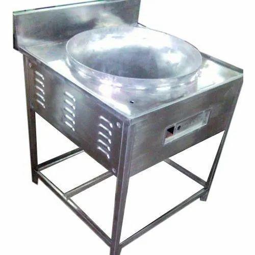 Silver Gas Bulk Fryer