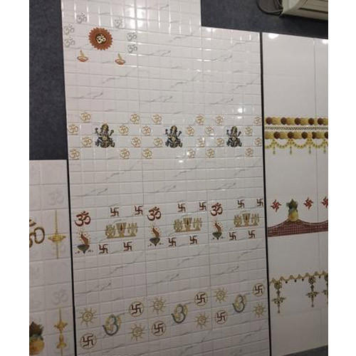 Ceramic Wall Tiles, Dimension: 12 x 18 Inch