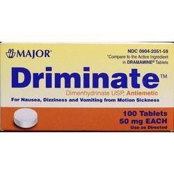 Dimenhydrinate USP Antiemetic Tablets