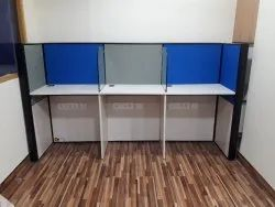 modular 3seater workstation
