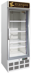 White Stainless Steel Upright Freezer, Frost-Free, Single Door