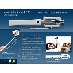 Selfie Stick (New Design) (Huge Branding Area)