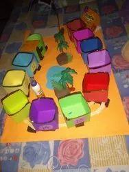 Handmade Paper Train
