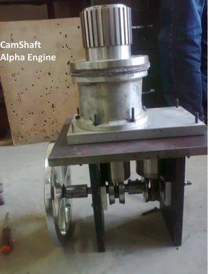 Cam Shaft Alpha Stirling Engine - Suryagen Renewable Energy Pvt  Ltd