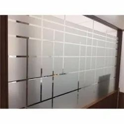 Pvc Frosted Office Glass Film Services, Thickness: 0.15 To 0.76 Mm, Packaging Type: Roll