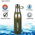 Probott Stainless Steel Double Wall Vacuum Flask Aster Sports Bottle 500ml PB 530-01