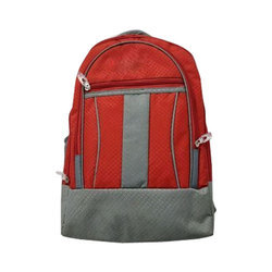 Printed Men School And College Bags, For Casual Backpack