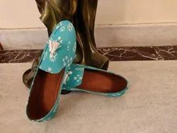 Hand Block Printed Loafer